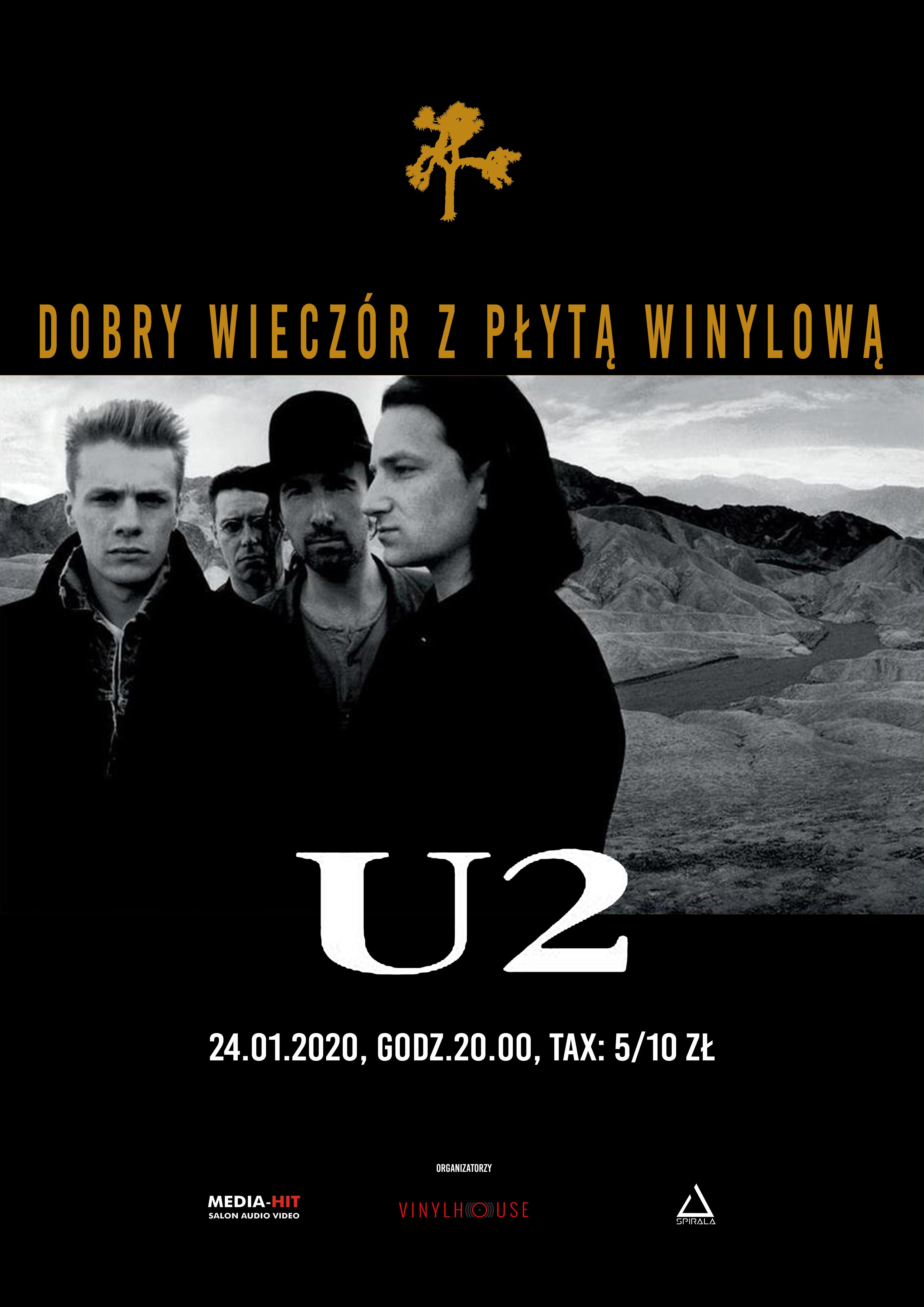 Dobry Wieczór z Płytą Winylową / U2 – droga na szczyt 1978-1988